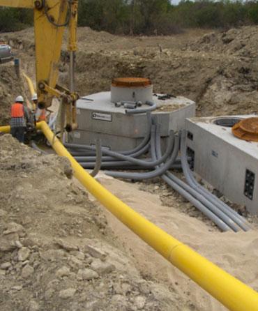 dry utilities